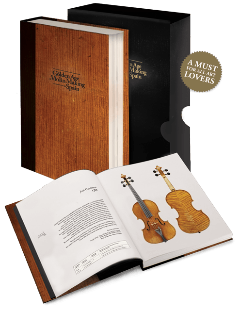 Cover of The Golden Age of Violin Making in Spain